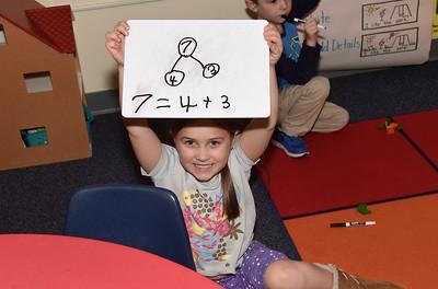 Number Bonding With Kindergarten photos by Gary Baker