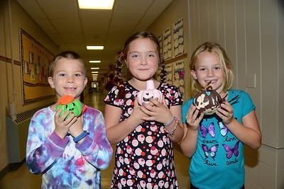 Second Grade Pumpkin Book Characters photos by Gary Baker