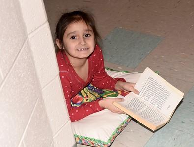 Second Grade Silent Read photos by Gary Baker