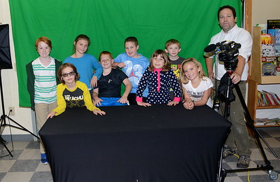 The Fisher News Crew photos by Gary Baker