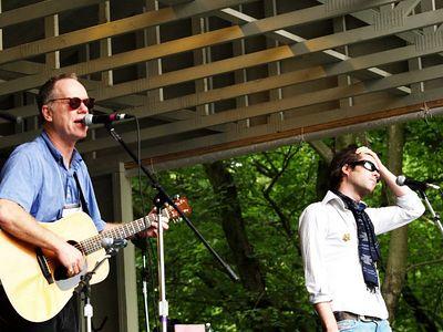 Loudon & Rufus Wainwright Appel Farm Festival 2005