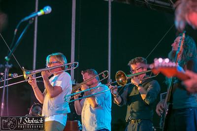 Anders Osborne with Bonerama at Crawdebauchery Fest 3/24/18 Pompano Beach Fla