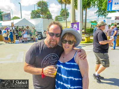 3/24/18 Crowd plus shots at Crawdebauchery Fest Pompano Beach