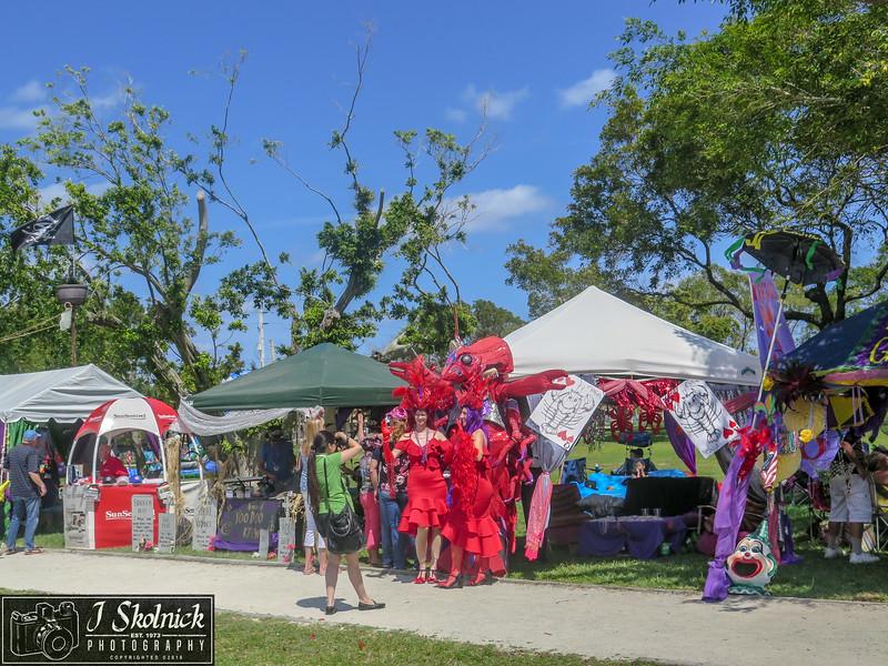Crawdebauchery Fest crowd shots 3/24/18 Pompano Beach Fla