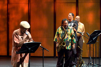 William Parker Ensemble - Amiri Baraka / Sabir  Mateen / Darryl Foster / Lewis  Barnes