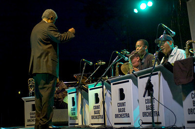 """Count Basie Orchestra under the Direction of  William  H. """"Bill"""" Hughes"""