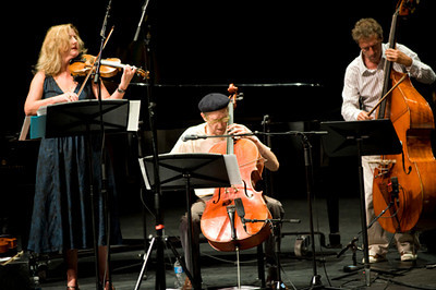 Instant Composers Pool Orchestra - Mary Oliver / Tristan Honsinger / Ernst Glerum