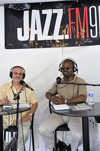 Jazz.FM91 live broadcast  from Jazz Festival – Larry Green  and his gest Mark  Barnes