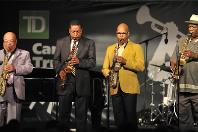 Red Holloway, Donald Harrison, Greg Osby, Bobby Watson