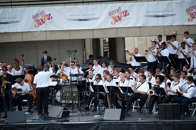 Michigan State University Jazz Orchestra I, II, III (Triple Big Band)