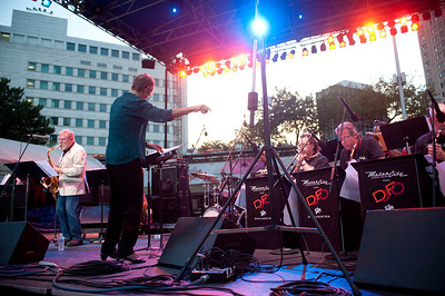 The Detroit Jazz Festival Orchestra ft. Lew Tabackin