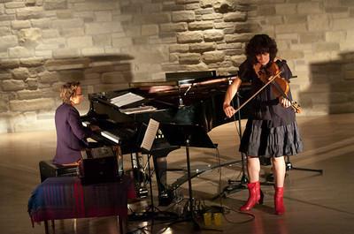 Myra Melford & Jenny Scheinman
