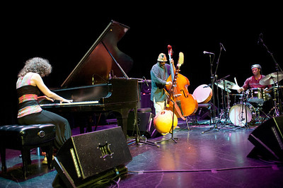 Marianne Trudel, William Parker and Hamid Drake