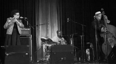 Nicole Mitchell's Indigo Trio  Nicole Mitchell / Hamid Drake /  Harrison Bankhead