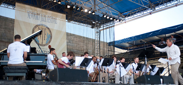 University of Rhode Island Jazz Festival Big Band