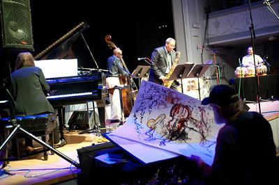Jeff Schlanger capture live Reggie Workman WORKz concert   http://www.musicwitness.com
