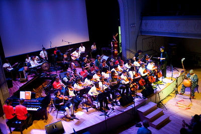 THE FUTURE  All schools (50 young musicians) guest : William Parker, Hamid Drake