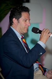 """JazzTimes"" Presents - John Pizzarelli - hosted by Mark Ruffin  Greektown Casino-Hotel  Jazz Talk Tent"