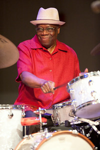 Andrew Cyrille   http://www.drummerworld.com/drummers/Andrew_Cyrille.html