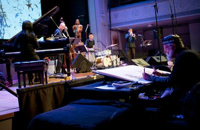 Satoko Fujii New Trio +1 + Jeff Schlanger   http://satokofujii.com/eindex  http://musicwitness.com