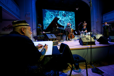 Jeff Schlanger + Satoko Fujii New Trio +1   http://musicwitness.com  http://satokofujii.com/eindex
