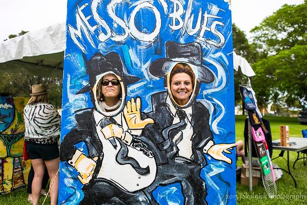 MESS O BLUES FESTS POMPNO BEACH FLA