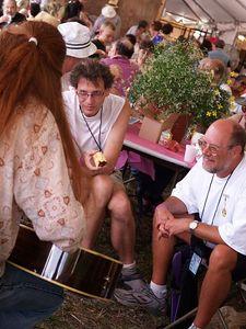 Friends of The Fest Lunch w/ Pat Wictor Philly Folk Fest 2005