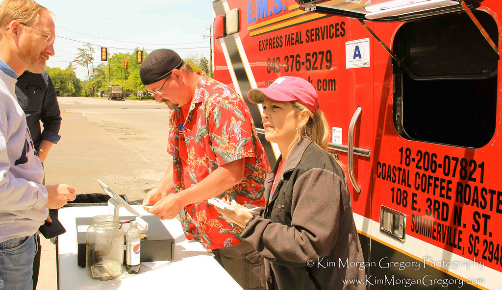 BATTERY   OAK ROAD BREWERY   PALMETTO MILITARY SUPPORT GROUP    EMS FOOD TRUCK