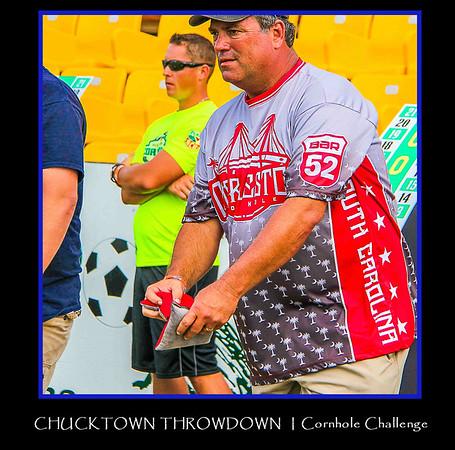 CHUCKTOWN THROWDOWN   Cornhole Challenge 2016