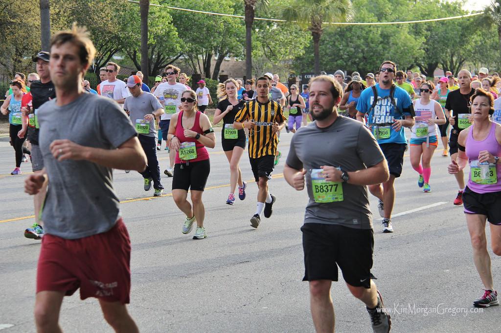 Charleston BATTERY Players | 2014 Cooper River Bridge Run