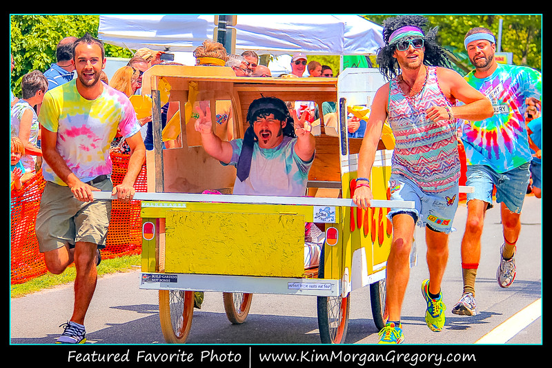 BED RACE; Camp Happy Days