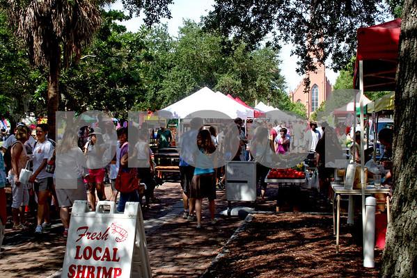 Charleston, SC Farmer's Market at Marion Square