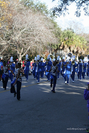 Christmas Parade; Historic Charleston, SC