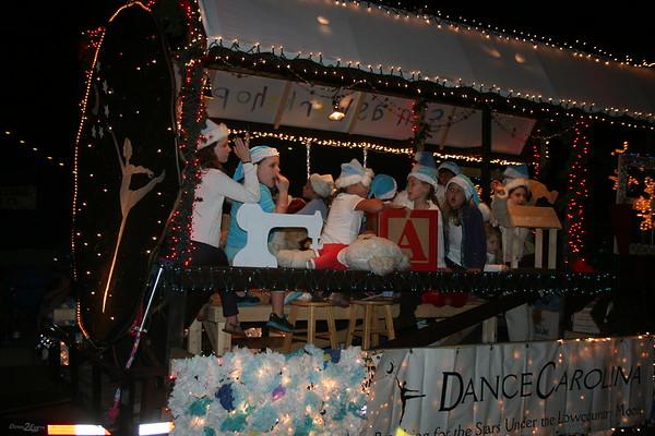 Mt. Pleasant, SC, Christmas Parade, Coleman Blvd.,