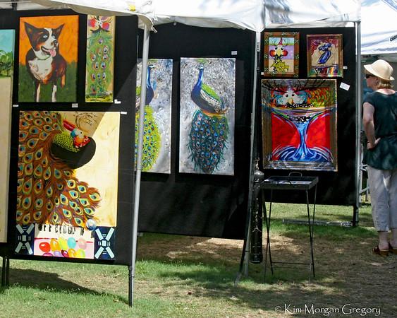 PICCOLO SPOLETO; Art Exhibit, Marion Sq., Charleston SC