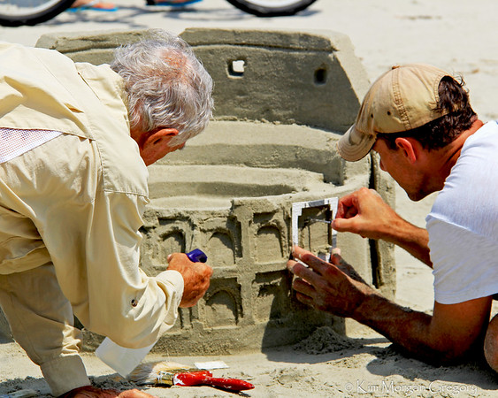 PICCOLO SPOLETO; Sand Building Competition; IOP, SC
