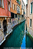 A quiet canal; Venice, Italy.