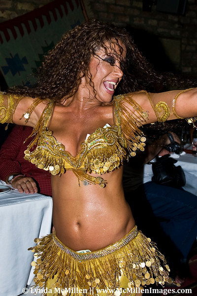 Belly Dancer, Istanbul, Turkey.