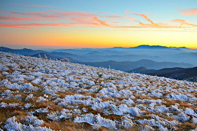 #16-SUNSET FROM ROAN MTN.