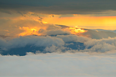 #18-SUNSET FROM ROAN MTN.
