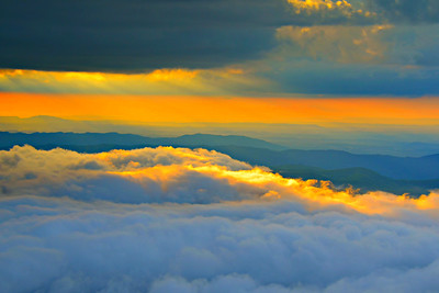 #07-SUNSET FROM ROAN MTN.
