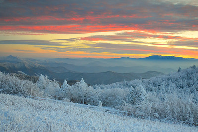 #12-SUNSET FROM ROAN MTN.