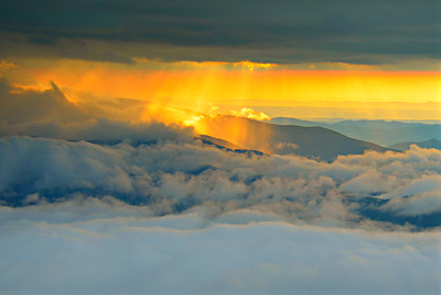 #15-SUNSET FROM ROAN MTN.