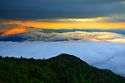 #09-SUNSET FROM ROAN MTN.
