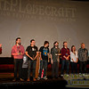 Andrew Migilolre applauced for 2010 award winners (left to right): Robert P. Olsson, Nicolas Simonin, Can Evrenol, Brian R. Hauser, Vancouver Film School, Andrew W. Jones