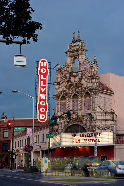 At the Hollywood Theater on Sandy Blvd in Portland, OR