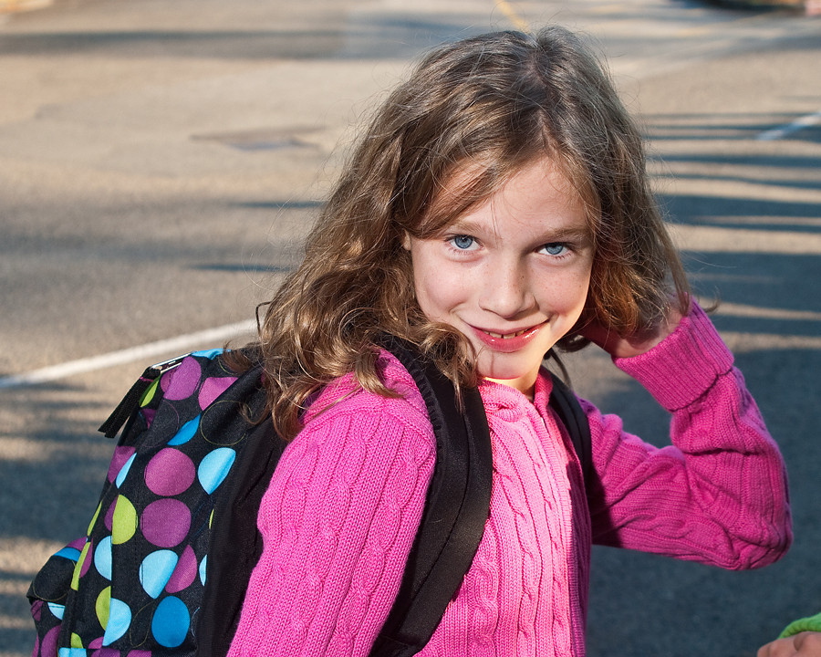 First Day of School, Fifth Grade, Peter Kirk Elementary