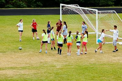 EFC college team practice at Bellevue College.