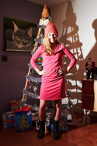 Christmas 2012 (Jubiltree and spiffy new dress)