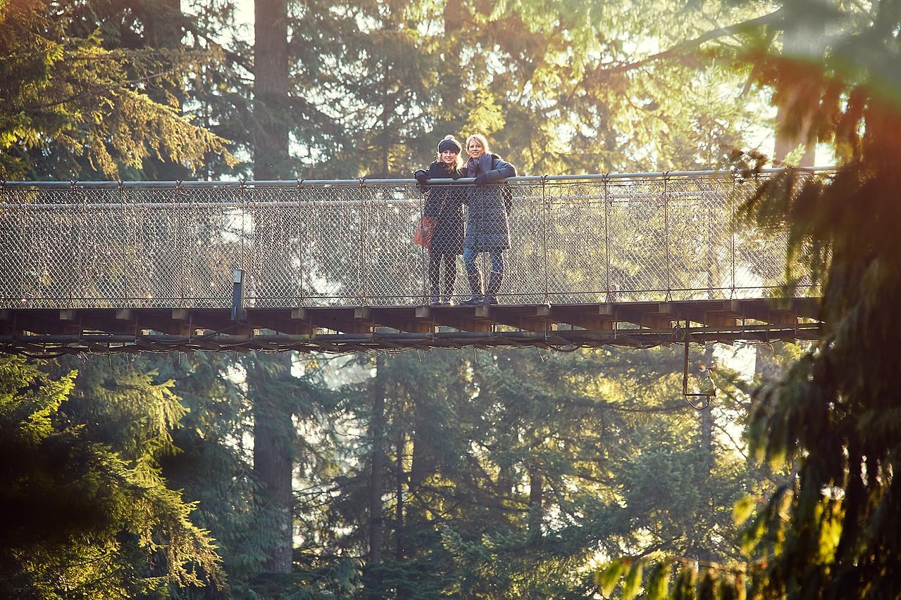 Capilano Suspension Bridge, Vancouver, B.C.
